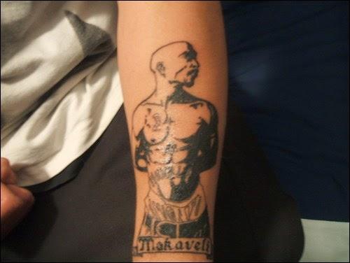 Tattoos stencils and designs tattoo designs for Thug life tattoo tupac
