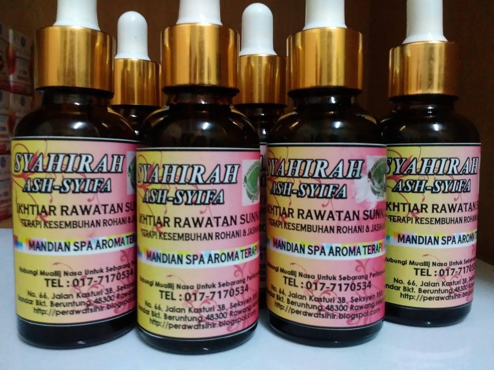 Syahira ASH-SHIFA ( mandian aromaterapi)