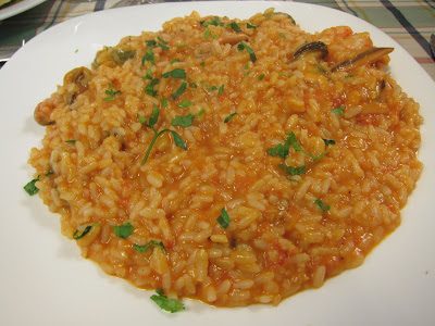 Seafood Risotto in Rome
