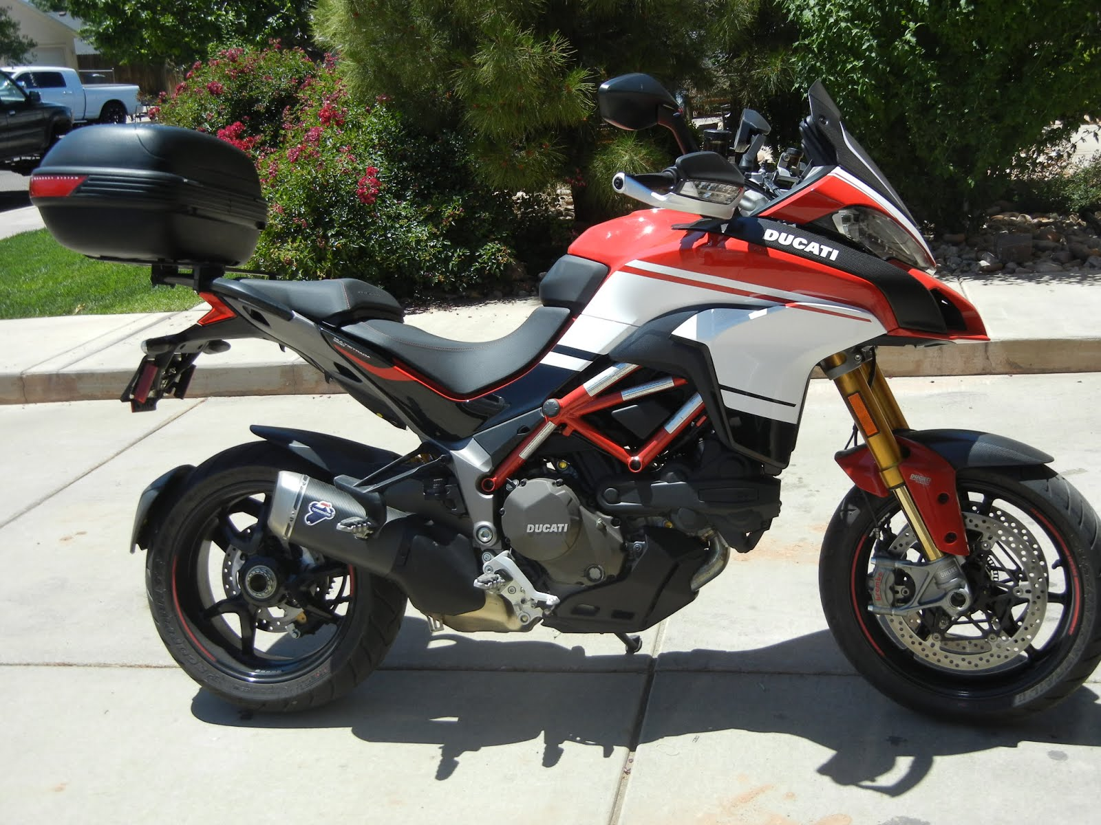 Ducati Multistrada Top Case Installation