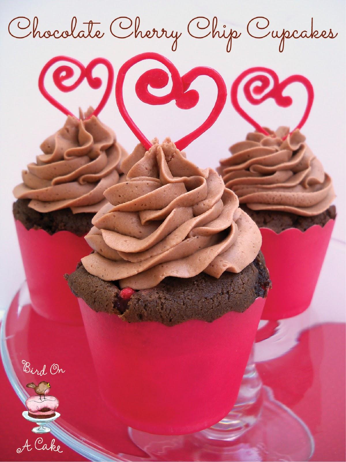 Cherry Chip Cupcake Recipe