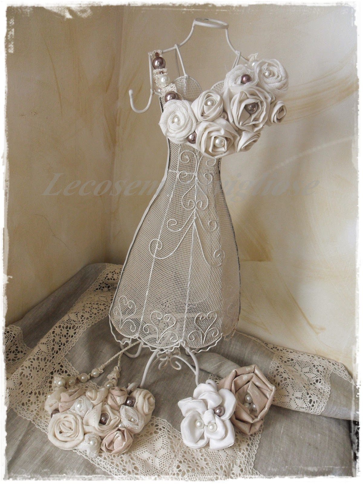 ... Shabby e country chic passions: collane e spille shabby chic