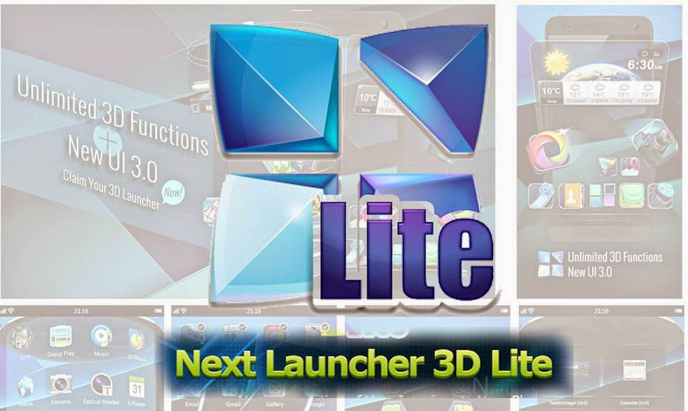 next launcher 3d shell apk cracked