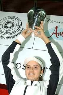 Sania Mirza winning Hyderabad Open