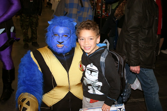 Lucas meets Beast from the X-Men