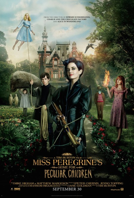 """""""El hogar de miss Peregrine"""" (Click sobre la foto para ver trailer)"""
