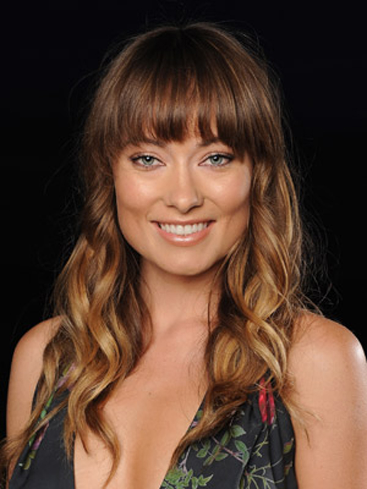 Popular Celebrity Bang Hairstyles Olivia Wilde