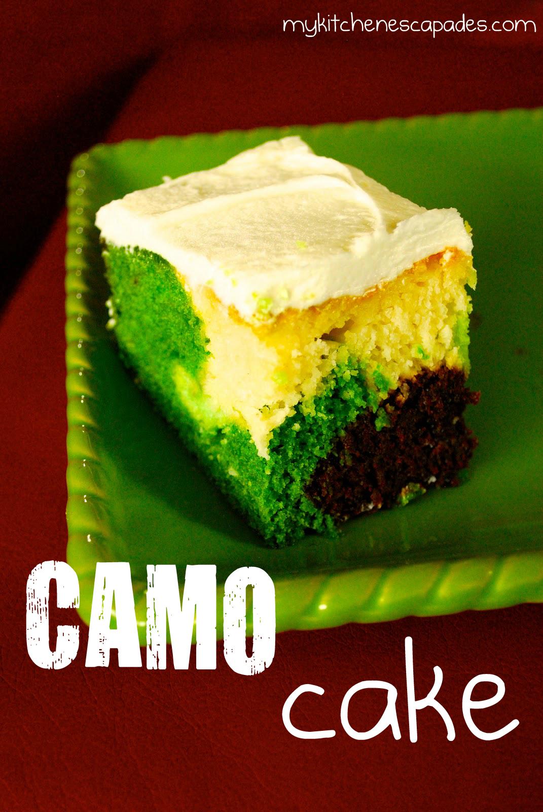 Camouflage Camo Cake