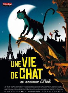 Ver online: Une vie de chat (Un gato en París / A Cat in Paris) 2010