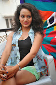 New Actress Jhansi Hot Stills in Shorts-thumbnail-2