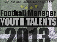Football Manager 2013 Most Promising Young Talents