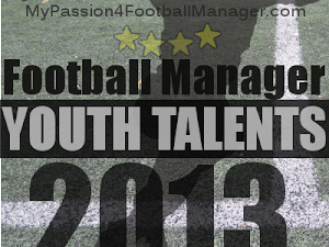 Football Manager 2013 Best Youth Talents shortlist