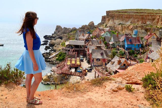 popeye village, atrakcje na malcie, atrakcje malty, malownicza wioska na malcie, malta, popeye village cennik