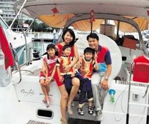 Darren Lim & Evelyn Tan Boating Lifestyle