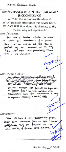 Ap english 2007 synthesis essay form b