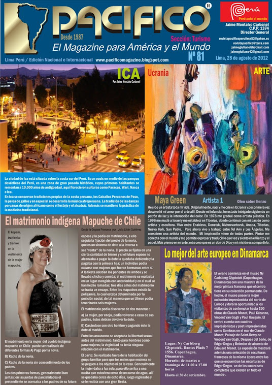 Revista Pacífico Nº 81 Turismo