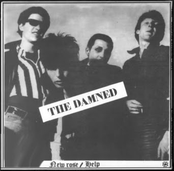punk rock the damned new rose