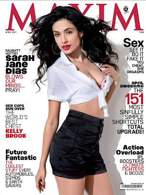Sarah Jane Dias Hot Maxim Photoshoot