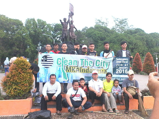 Clean The City Ahmadiyah Tasikmalaya