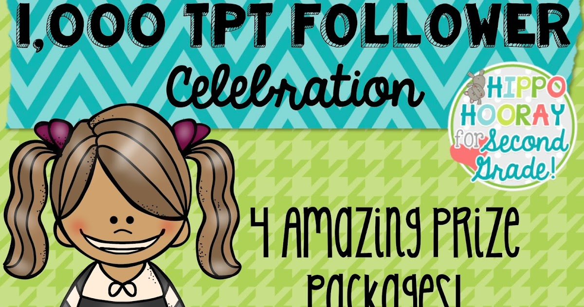 1,000 TpT Follower Giveaway