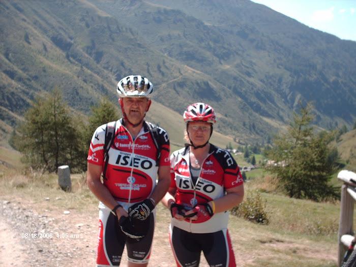 Kathy e Dado al Rifugio Bozzi
