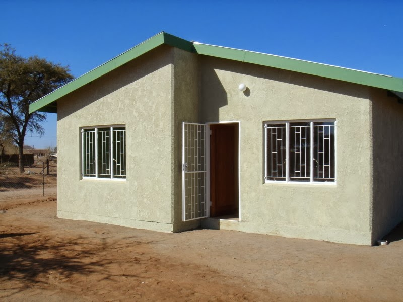 Human settlements south africa House building price
