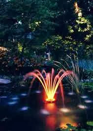Garden light based Pond fountain