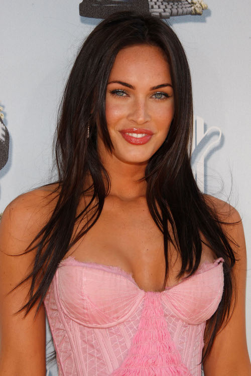 megan fox hair. 2011 megan fox hair color.