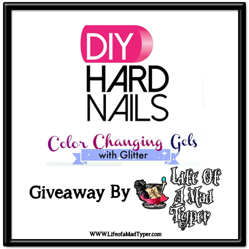 DIY hard nails gel polish #giveaway