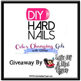 DIY hard nails gel polish #giveaway