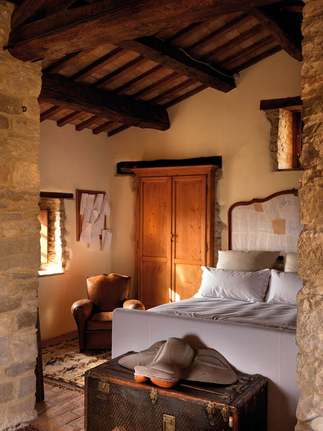 casa rural en italia suite acogedora
