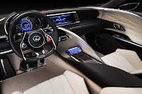 Lexus LF-LC Blue Concept (2012) Interior