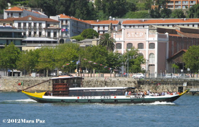 typical boat on the Douro river