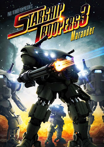 Poster Of Starship Troopers 3 2008 In Hindi Dual Audio Bluray 720P Free Download