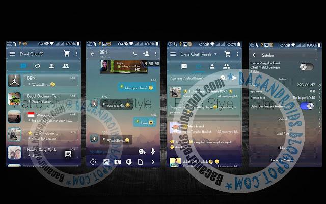 download BBM Mod DroidChat Tema Transparent Terbaru 2.90