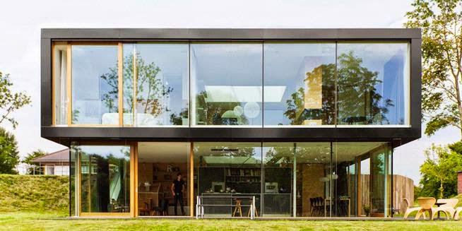 Desain Rumah Minimalis, Tetap Bagus Dan Cantik di Batas Hutan