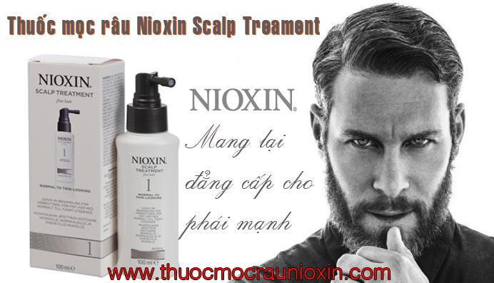 Thuốc mọc râu nioxin có hiệu quả không
