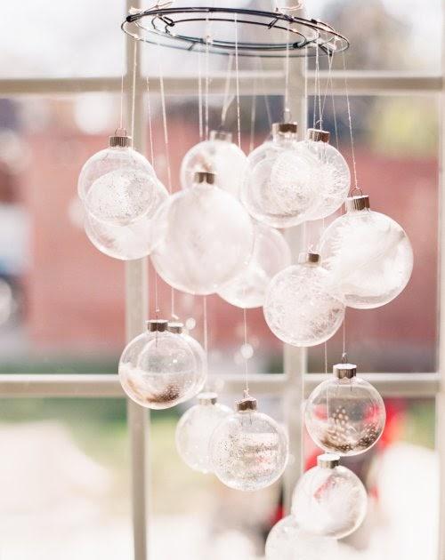 A bright bite make your own ornament chandelier for How to make your own chandelier