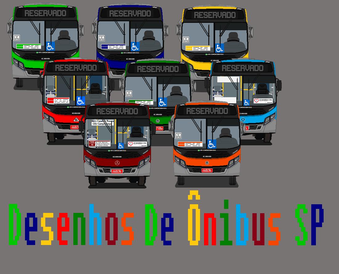 Desenhos De Ônibus SP