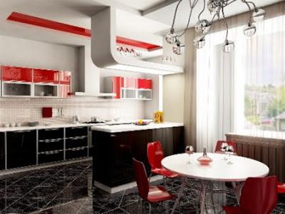 desain dapur cantik 2014