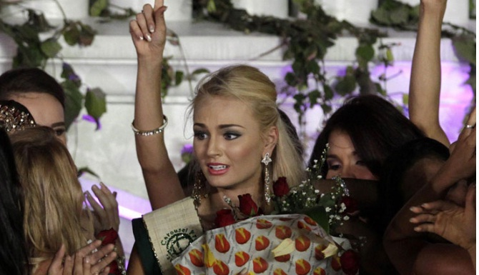 Miss Earth 2012 winner Tereza Fajksova