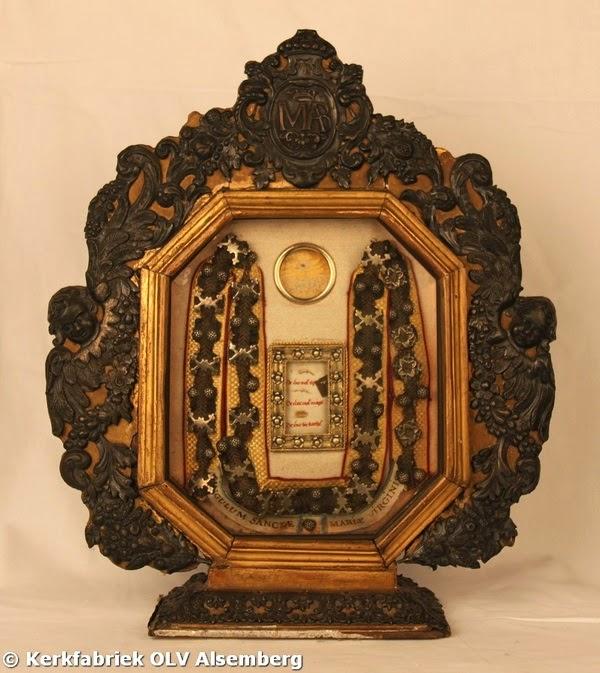 Η Ζώνη της Παναγίας του Alsemberg του Βελγίου http://leipsanothiki.blogspot.be/