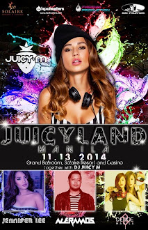 JUICYLAND Manila: Juicy M Live in Manila