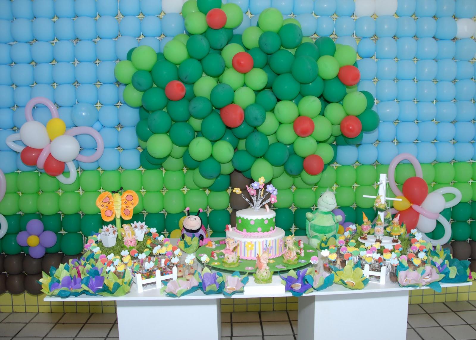 Detalhes De Festas: Jardim Encantado