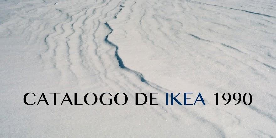 CATALOGO DE IKEA 1990