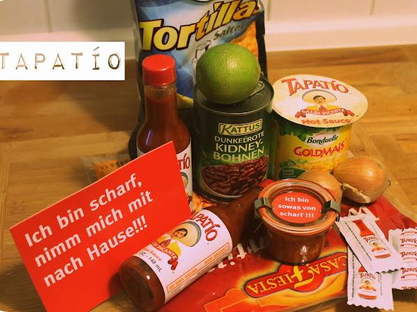 Extra scharf: Nacho-Auflauf mit Tapatío Hot Sauce + GIVE AWAY