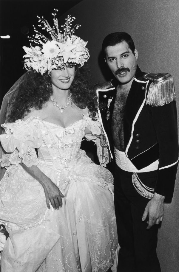 Vintage everyday freddie mercury and jane seymour