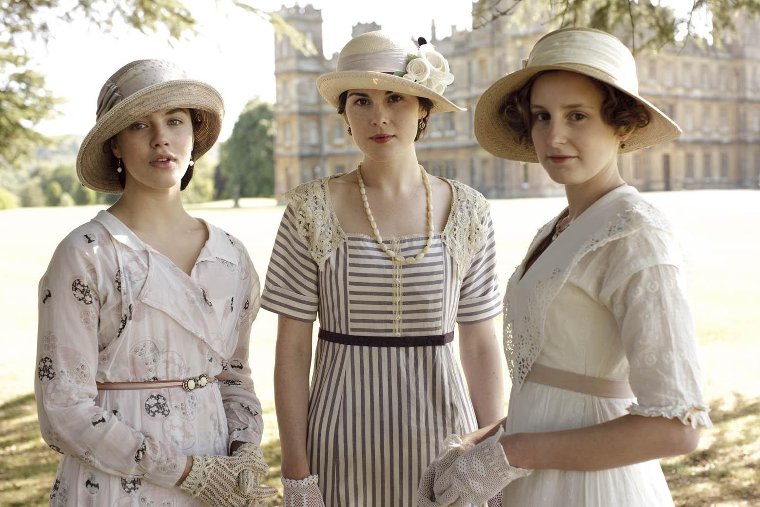 Model Downton Abbey