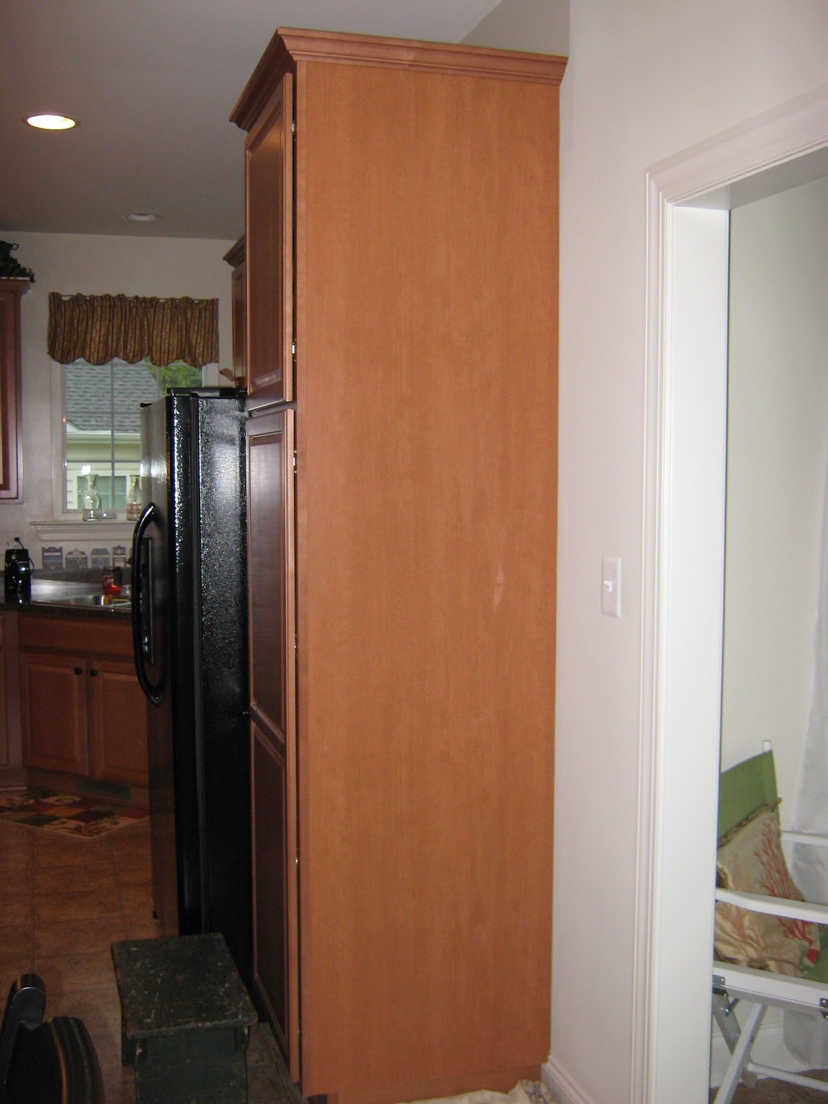 Menu Board Kitchen Cabinet