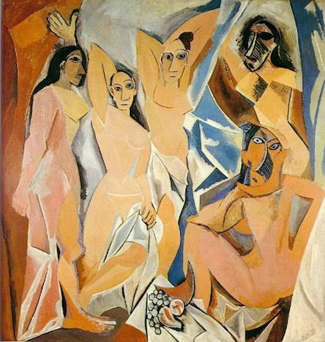 Art Talk - foredrag om kunst. Pablo Picasso: Les Desmoiselles d'Avignon, 1907